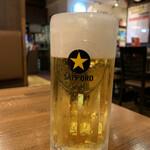 陳麻家 - ドリンク写真:Aセット(生ビール)