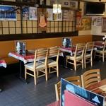 タージタンドール - テーブル席