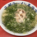 元祖ラーメン長浜家 - 『ラーメン』しゃん(600円)