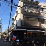 サロン ド テ ジャンナッツ - 店舗遠景