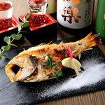 個室居酒屋×海鮮炉端焼き 喰海 - 厳選魚介の岩塩焼き
