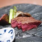 窯焼き割烹 黒泉 - 料理写真:十勝牛シャトーブリアン 釜焼き