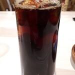 トラットリア・ターボロ・ディ・フィオーリ - アイスコーヒー
