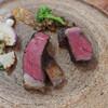 SAISIR - 料理写真:近江牛と鹿児島経産牛の40日熟成