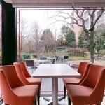 ウィラーエクスプレスカフェ - 自然を眺めながらのホッと一息……
