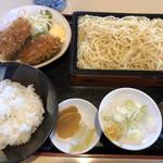 ことぶきや - 料理写真:♪中華もり定食(ピーマン肉詰フライ)¥850