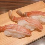 雛鮨 - 食べ放題で一人1貫だけ食べれる蟹さん!