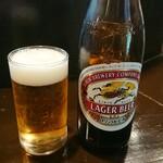 123685625 - うっかり! 瓶ビールはラガー!