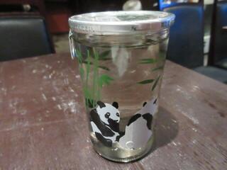 とりから 輪志 - 御代櫻 純米酒パンダカップ