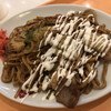 お好み焼き・鉄板焼き 楽甚 - 料理写真:2020/1/15 ディナーで利用。 焼きそば(太麺)770円