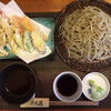 猪口才 - 料理写真:「天もり蕎麦」@1430+「大盛り」@200(税込) 天つゆ付き