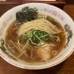 弘雅流製麺 - 少し縮れた中細麺
