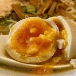 中華蕎麦 瑞山 - 煮玉子(2020.01)