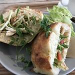 ヨムパン - 鶏むね肉のフォカッチャサンド(2020.1.17)
