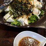 とりや なんじゃこりゃ - 豆腐とたっぷりわかめのサラダ