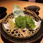 123695029 - 青さのり天ぷら。580円+税