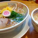 中華そば 三浦 - のっけ飯定食