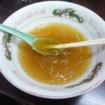 修ちゃんラーメン - スープ