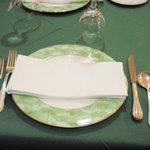 レストラン イグレック - テーブルセット