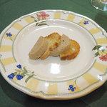 レストラン イグレック - アミューズ ポークのパテ