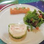 レストラン イグレック - 3675円のコースのオードブル