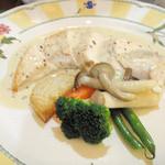 レストラン イグレック - 2625円コース 鶏肉のグリル