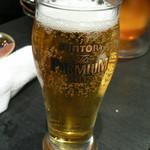 12370411 - ビールはサントリー・・・個人的には苦手な銘柄・・・