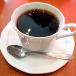 浅草カフェ ラグランドカリス - クロックマダムセット(500円)のブレンドコーヒー