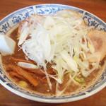 麺工房 武 - ネギラーメン(750円)
