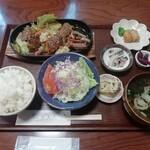花まり - 焼肉定食(800円)
