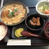 げんき亭 - 料理写真:かつ鍋定食=850円 税込