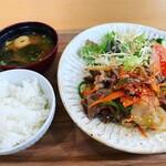 三上山テラス - 料理写真:焼肉定食