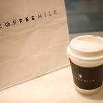 コーヒー ミルク -