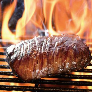 ★お肉はかたまりで豪快に焼くのが一番♪