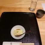 半笑 - 緑豆のお豆腐