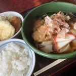 かとう - 料理写真:きしめん定食 ¥900