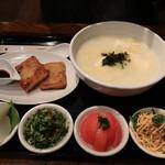 茉莉花 - 上海粥のランチ