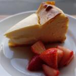 123717489 - ベイクドチーズケーキ