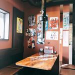 韓国家庭料理 炭火焼肉 しんちゃん - 店内