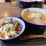 麺や 雅 - 料理写真:オススメセット