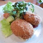 つばめキッチン - 帆立貝のクリームコロッケ
