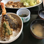 源泉 那須山 - 料理写真:天丼