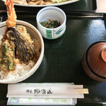 源泉 那須山 - 天丼