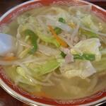 味のふじさわ - 料理写真:タンメン