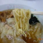 中華しば田 - 麺リフト