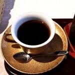 サザ コーヒー - いや~おいしかったです。サザコーヒーは、店内コーヒーがすごくおいしい印象(つくばも)。だが、イートインの値段は高級。