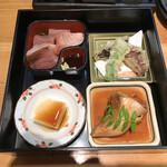 ときすし - お刺身、冷奴、天ぷら、カマ煮