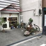アンズ舎 - 店の外観 ※少し奥まった場所にあり