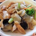 仙味軒 - 料理写真:八宝菜定食