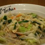 れんげ食堂 Toshu - 1日分の野菜が摂れるスープアップ